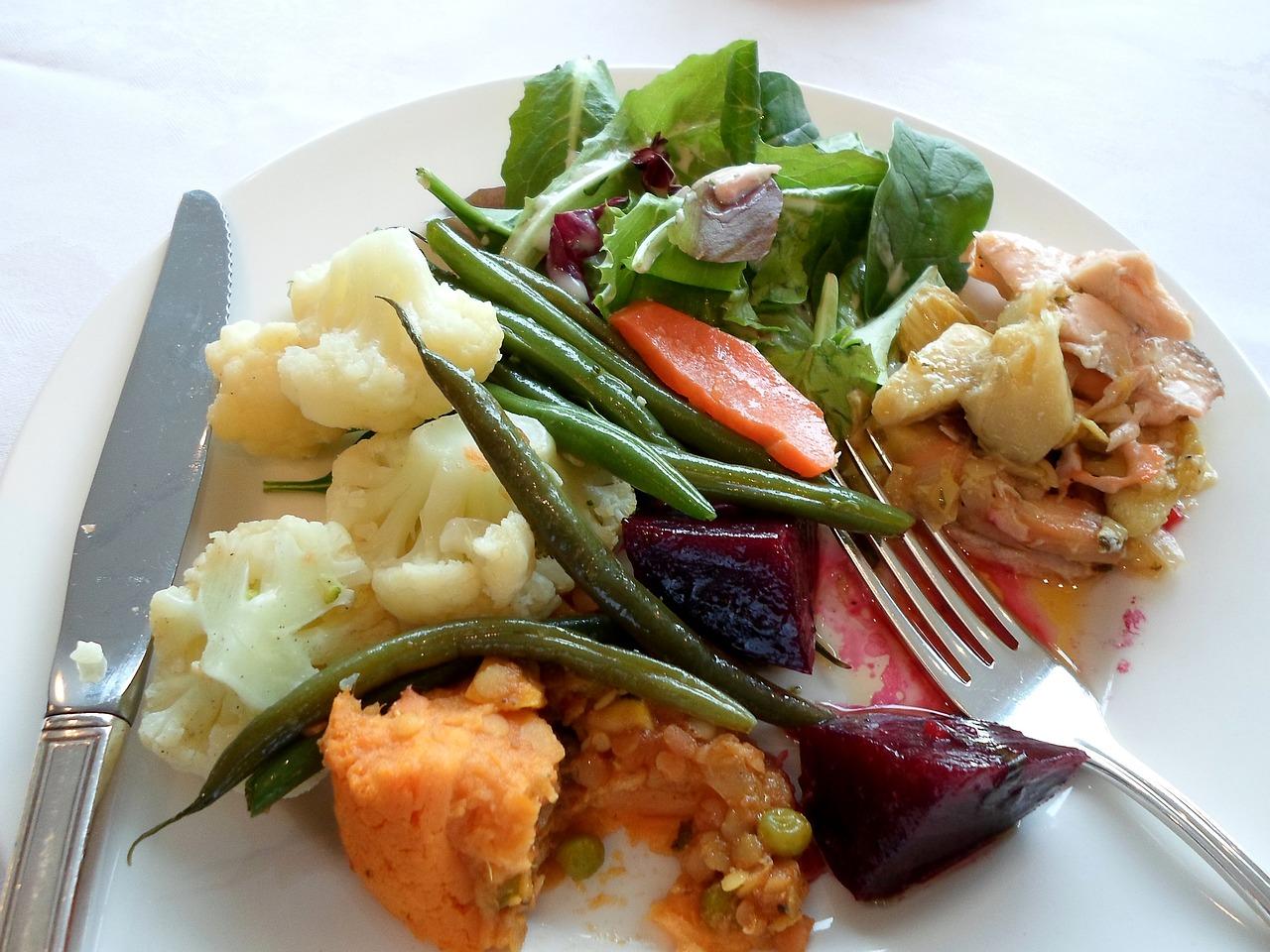 Food Plate Eating | eating, food, cuisine, girl,