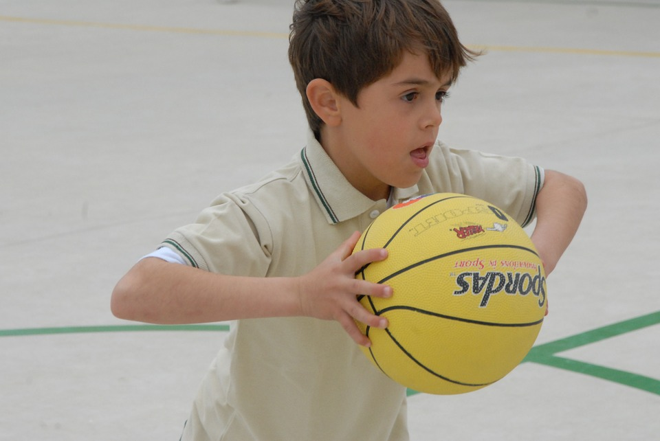 Sport, Child, School, Ball, Basketball, Guy, Play, Game