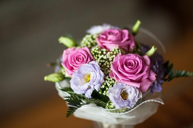 Peony And Hydrangea Bouquet