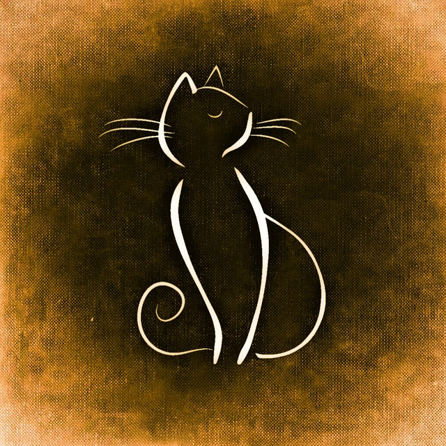 free illustration cat drawing animal image funny