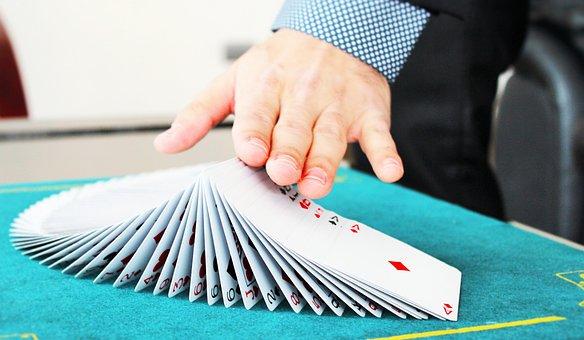 Hands Cards Magic Magician Attention Magic