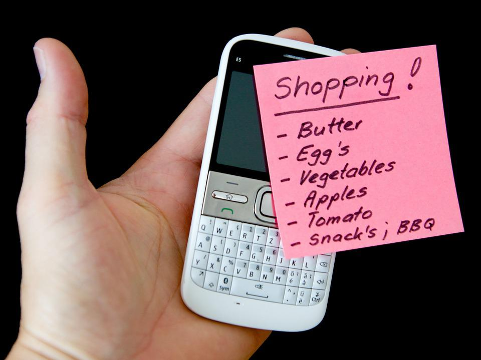 Shopping lists