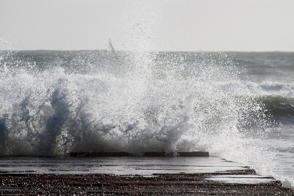 фото волны море