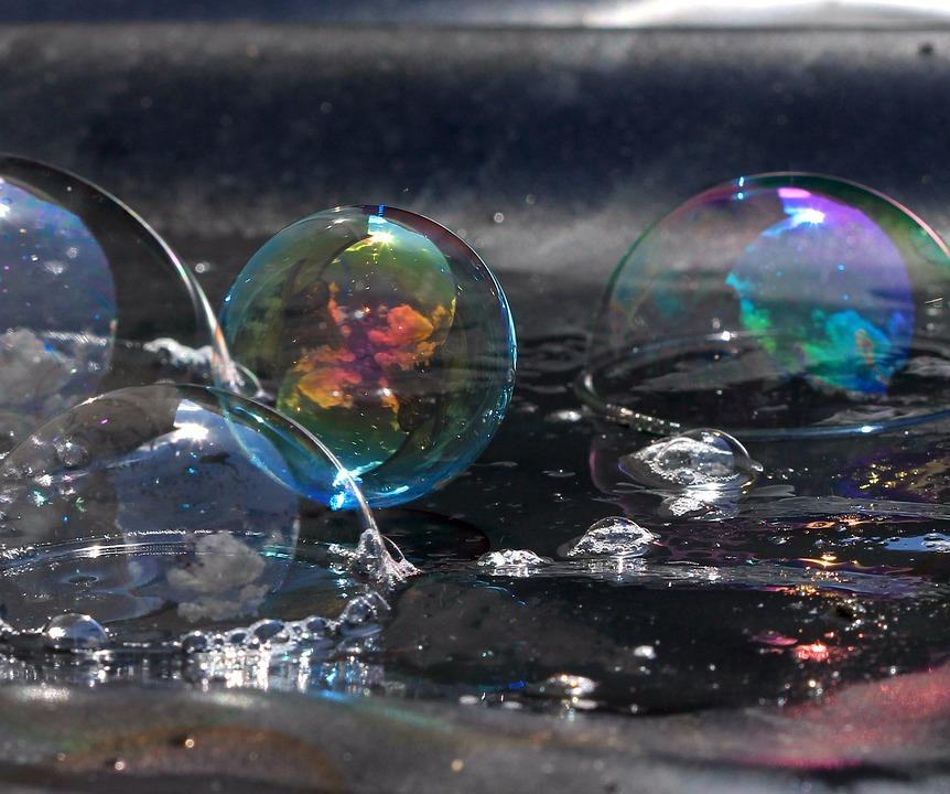 photo gratuite  bulles de savon  bulles  savon