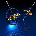 gyro, spinning, gravitational