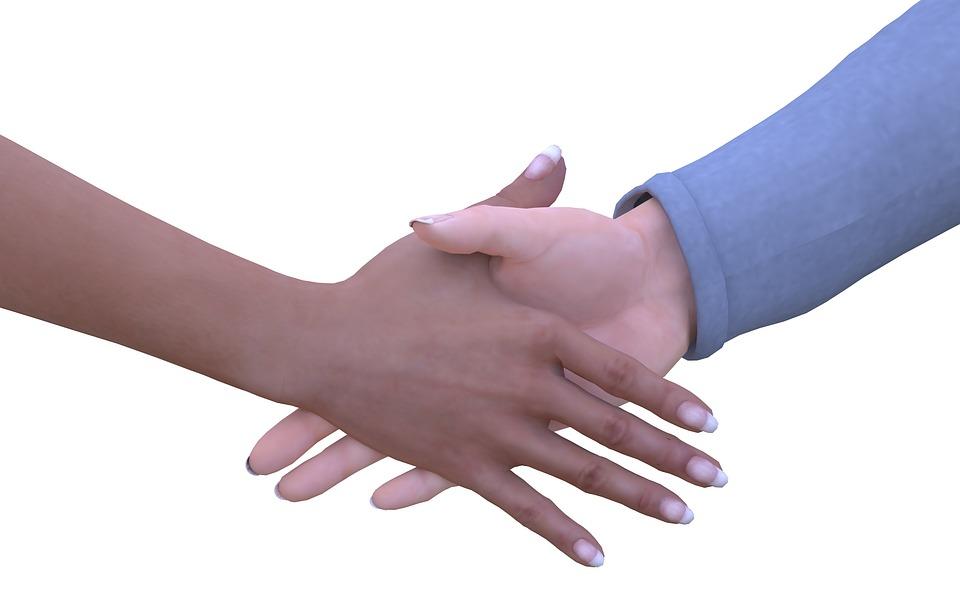 Hand, Hands, Shaking Hands, Man Hand, Woman'S Hand