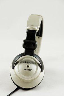 Headphones, Dj, Audio, Mp3, Music