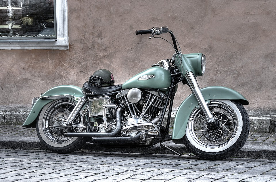 Free photo Motorbike Harley Davidson Harley Free Image on