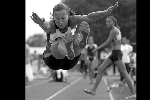 Sport, Jump, Long Jump, Games, Sports