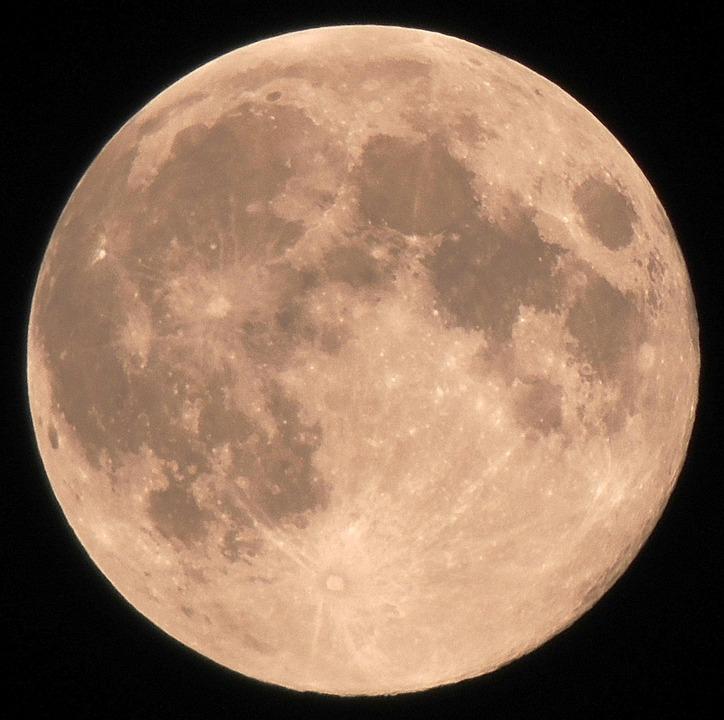 Fabuleux Photo gratuite: Pleine Lune, Lune - Image gratuite sur Pixabay  OE21