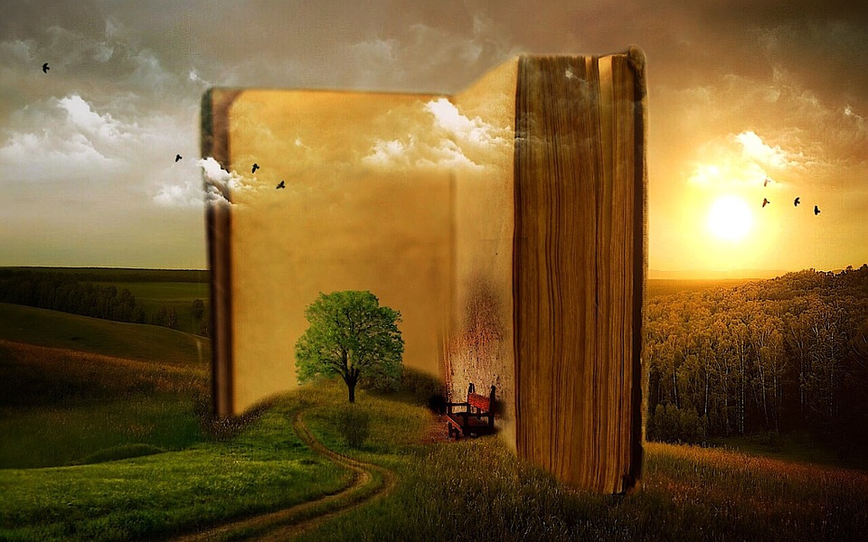 Book, Old, Surreal, Fantasy, Pages, Open Book, Chapters