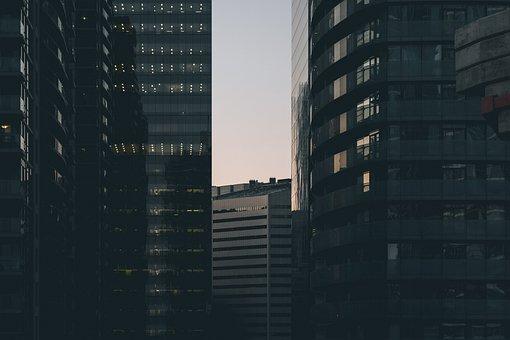 City, Cityscape, Buildings, Offices