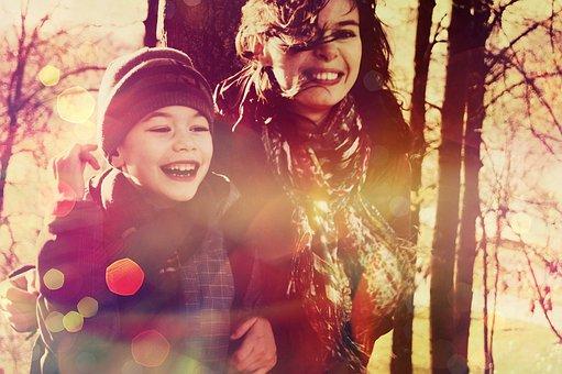 赤ちゃん, 笑顔, ママ, 母と息子, 家族, 喜び, 少年, 写真, 人