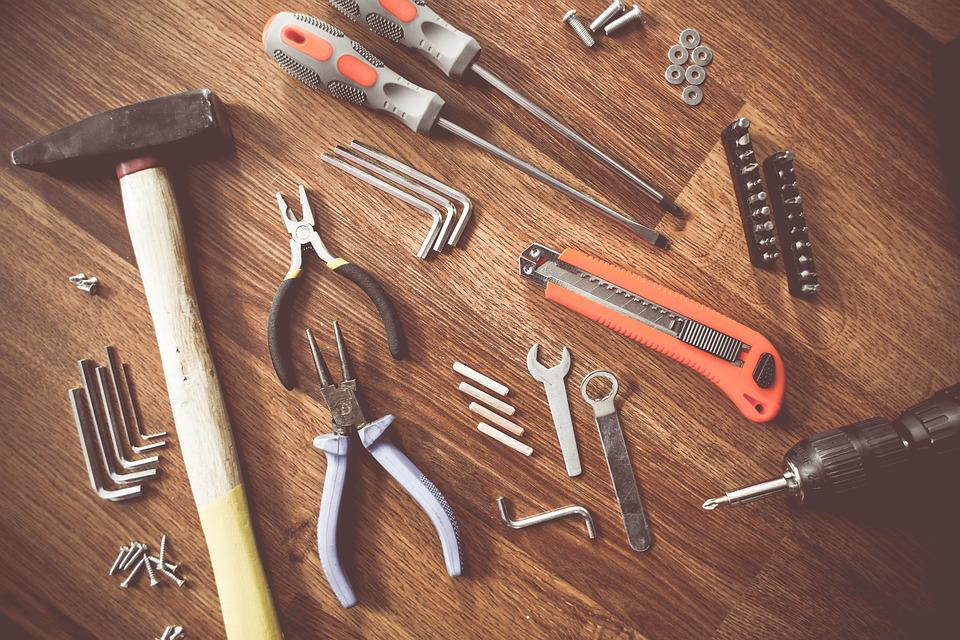 Herramientas, Construir, Embarcaciones, Reparación