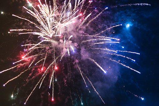 Fireworks, Sparkle, Sky, Glow, Explode
