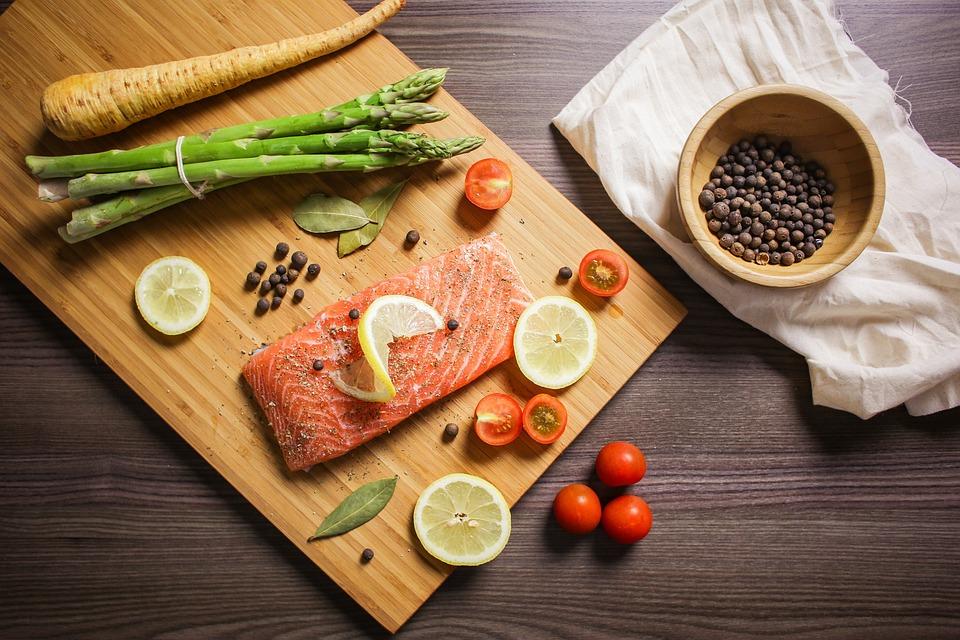 Żywności, Smakoszem, Wypieków Kwesta, Łosoś, Ryb