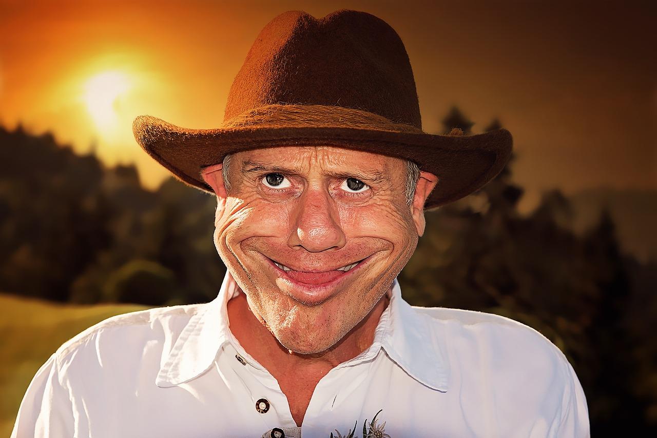 смешно фото человека