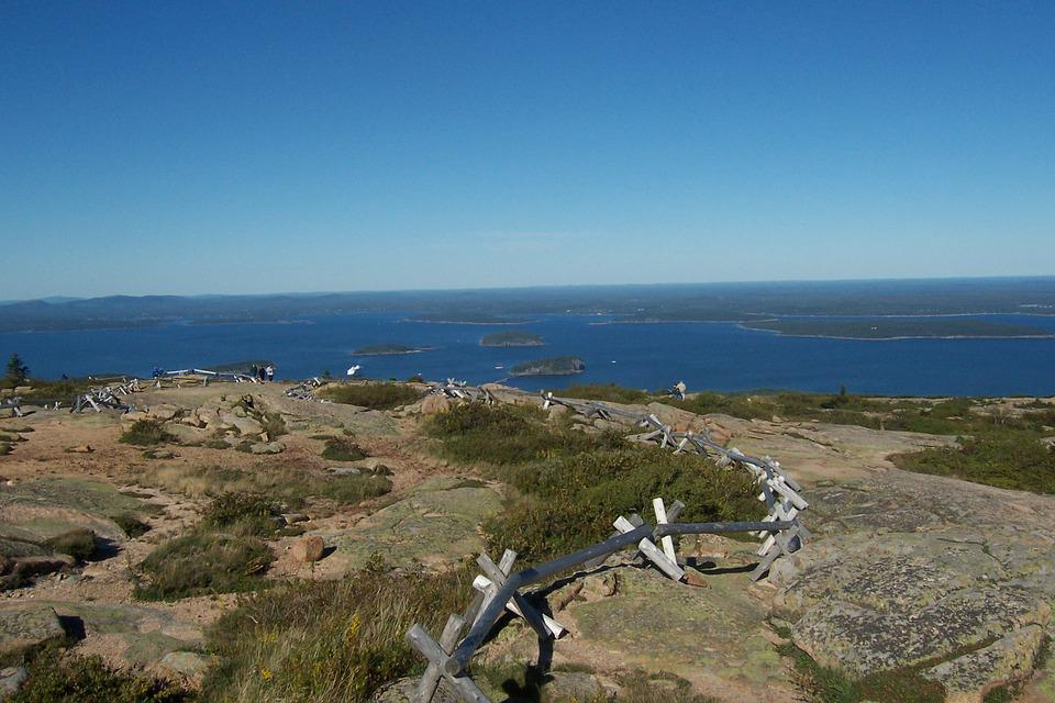 Cadillac Mountain, Northern Maine, Acadia, Landscape