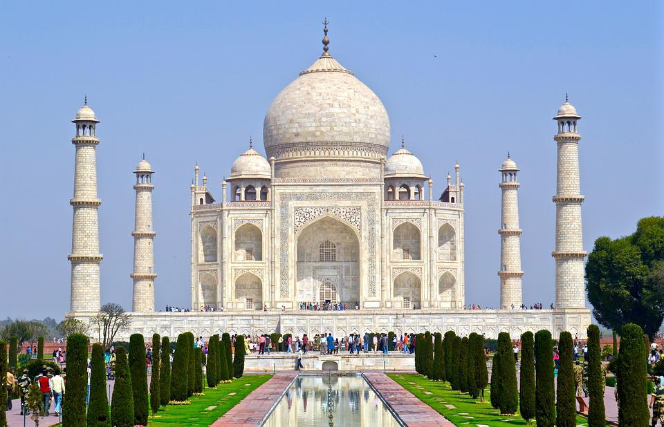 Free photo india taj mahal agra free image on pixabay Indian building photos