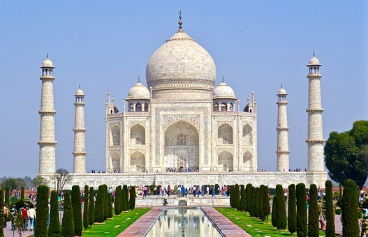 India, Taj Mahal, Agra, Architecture