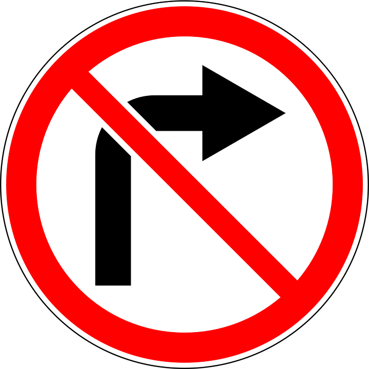In Russia, allowed to turn right to red 18