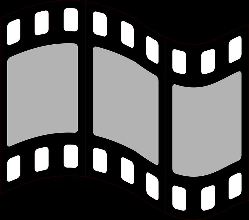 Film graphique symbole bande images vectorielles - Clipart cinema gratuit ...