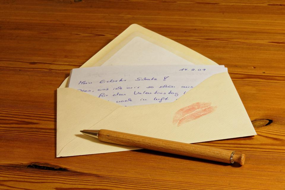 Letters Envelope Post Paper Message Pen Coolie