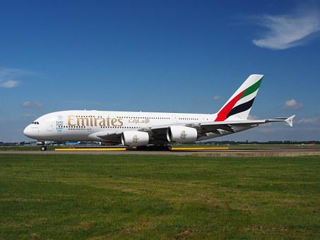Emirates Airbus A380 Aircraft Plane Airpla