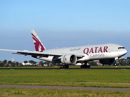 Qatar Airways, Cargo, Boeing 777