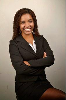 Woman Black Businesswoman Young Accounting