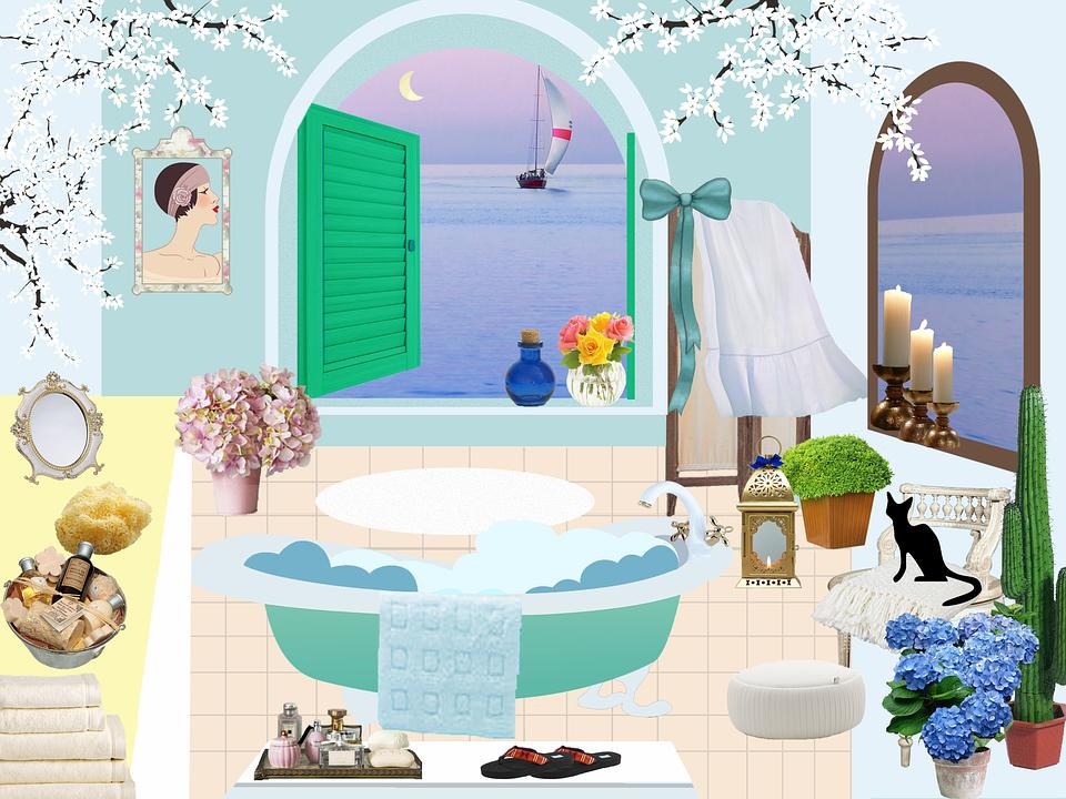 Badezimmer Bad Antik Kostenloses Bild Auf Pixabay