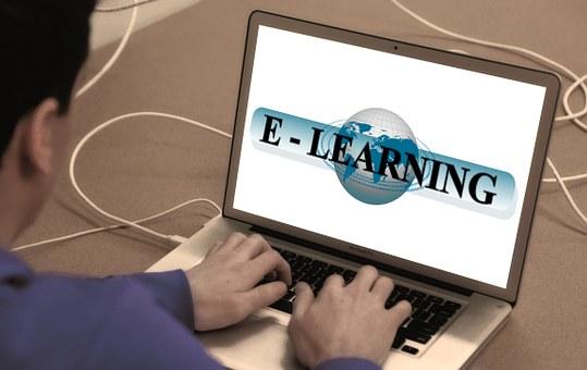 Learn, Online, Laptop, Man, Write