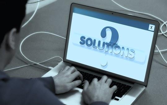 Laptop, Man, Write, Keyboard