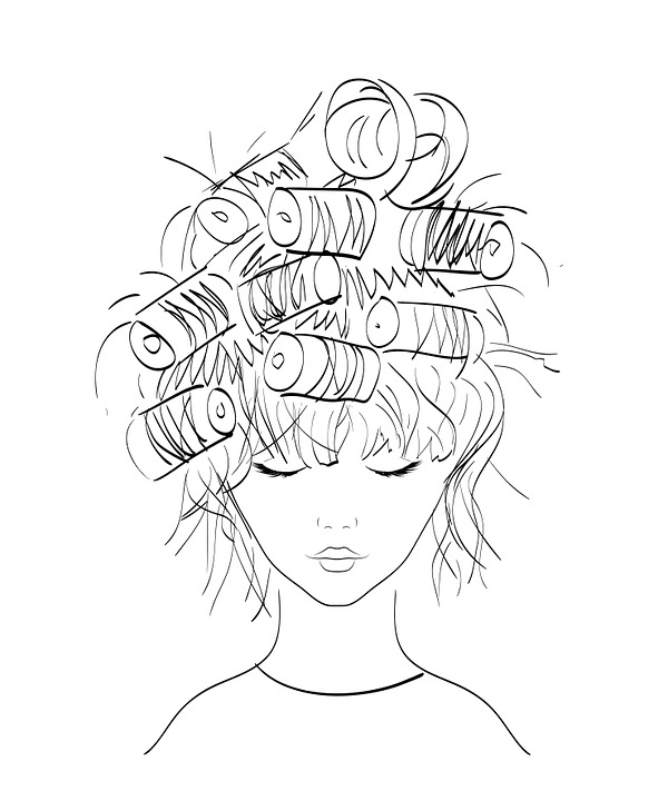 Free Illustration Girl Hairstyle Illustration Free Image On - Drawing a hairstyle