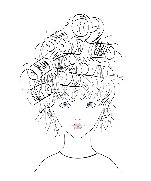Girl, Hairstyle, Illustration, Fashion, Bella, Beauty