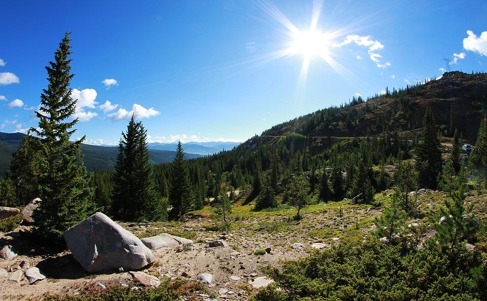 露营, 营, 山, 树, 景观, 夏天, 自然, 户外, 旅行, 娱乐, 森林, 放松, 活动, 草, 快乐
