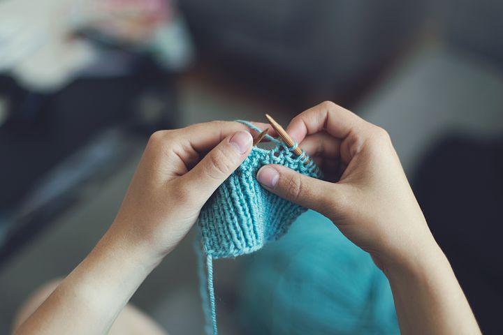 Knit, Sew, Girl, Female, Make, Craft