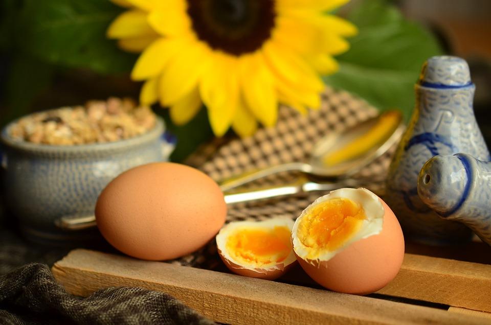 half-boiled egg