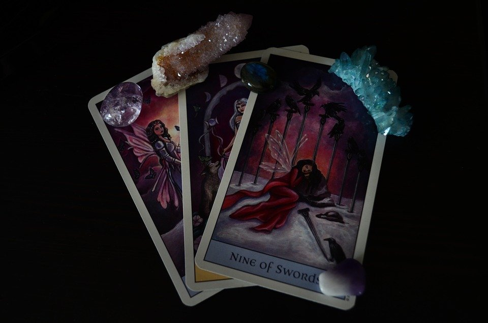 Tarot, Tarot Cards, Short, Stone, Crystal, Stones