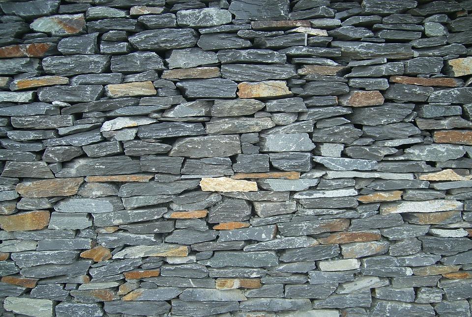 muro de piedra la pared piedras cantos rodados