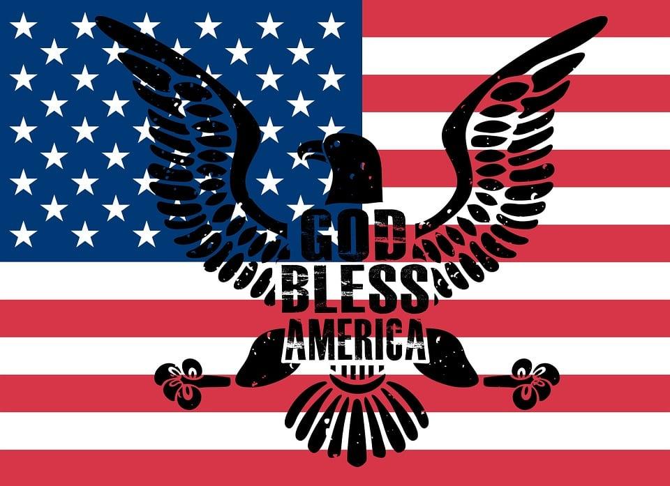 america usa god bless america americans american - American