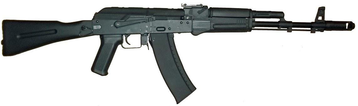 Ak-47 Kalashnikov Rifle Gun Weapon Russian