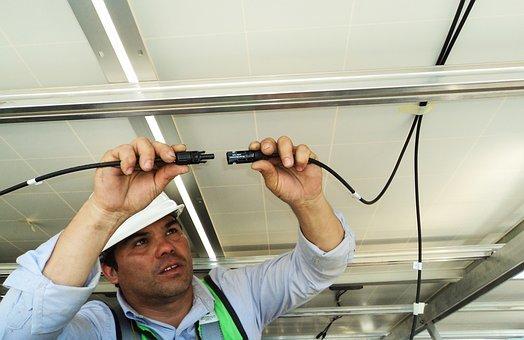 Instalação, cabeamento, eletricidade