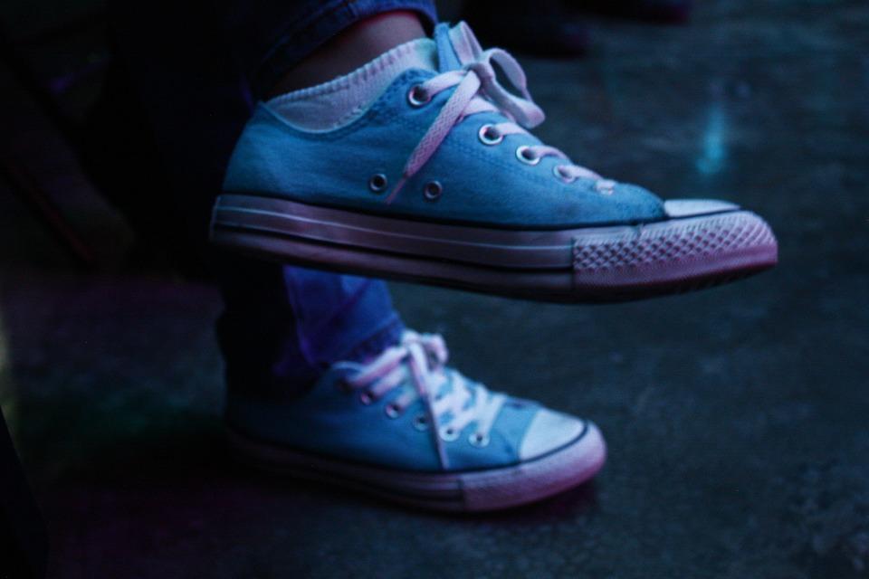 converse azul celeste