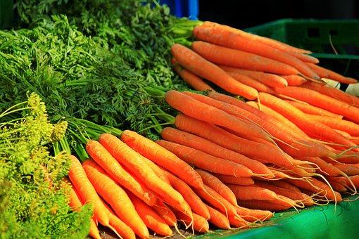 Carrots, Vegetables, Healthy