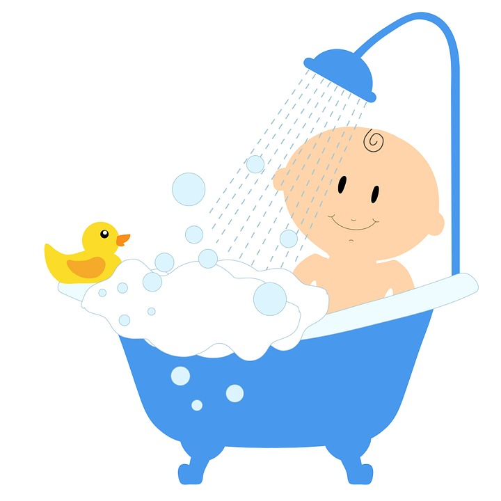 free illustration baby bath shower bath tub child bathing a newborn why you should delay the first bath