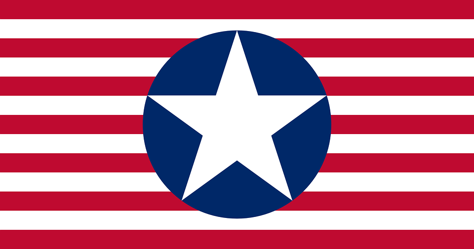 american fascist flag fictional - American
