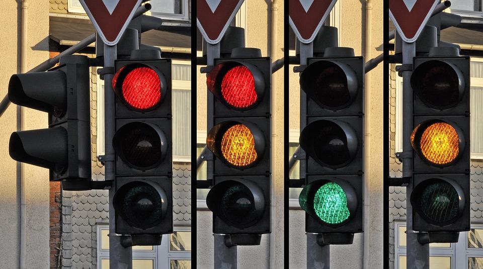 Ampel, Signal, Der Verkehr, Straße, Unterzeichnen