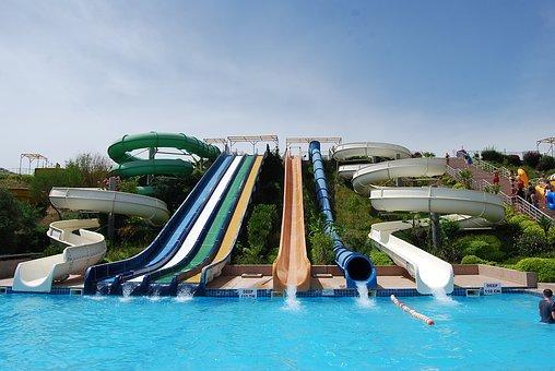 Aqua Park, Marmaris, Slides, Pool, Water