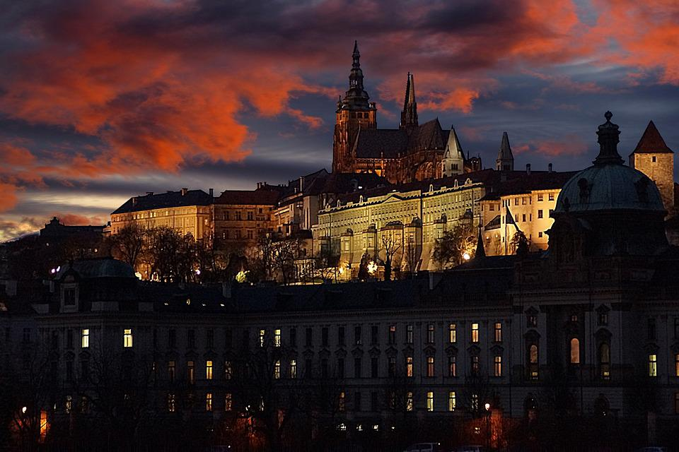Pražský Hrad, Česká Republika, Evropa, Praha, Moldavsko